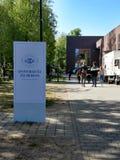 Universitaet-zu Berlin stockbild