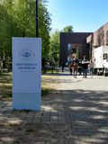 Universitaet zu Berlin fotografering för bildbyråer