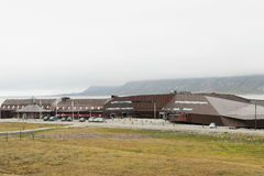 Universitair Centrum in Svalbard Stock Afbeelding