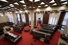 Universitaire bibliotheek royalty-vrije stock foto