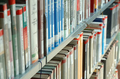 Universitaire bibliotheek Stock Fotografie