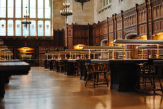 Universitaire Bibliotheek Stock Foto