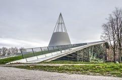 Universitaire bibliotheek in Delft stock foto
