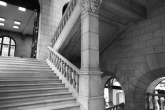 Universitaire Bibliotheek Leuven stock foto's