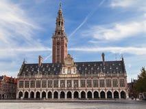 Universitaire Bibliotheek van Leuven Royalty-vrije Stock Foto