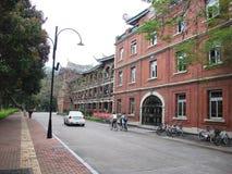 Universitaire campus Stock Foto's