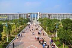 Universitaire Campus, China Royalty-vrije Stock Fotografie