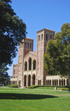 Universitaire campusklokketorens Royalty-vrije Stock Foto