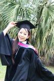 Universitaire gediplomeerde. royalty-vrije stock afbeeldingen