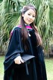 Universitaire gediplomeerde. stock foto