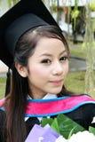 Universitaire gediplomeerde. royalty-vrije stock fotografie