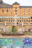 Universitaire Laboral van Gijon royalty-vrije stock fotografie