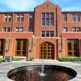 Universitaire Munk de Schoolfontein 2016 van Toronto Stock Foto