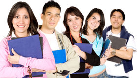 Universitaire studenten Stock Fotografie