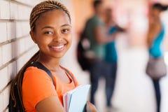 Universitaire studentenclose-up stock afbeeldingen