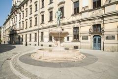 Universitaire wroclaw Polen Europa Stock Foto's
