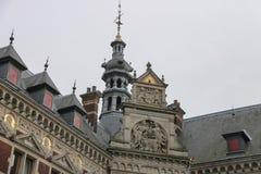 Universitaire Zaal van de Universiteit van Utrecht Stock Afbeeldingen