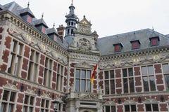 Universitaire Zaal van de Universiteit van Utrecht Royalty-vrije Stock Fotografie