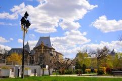 Universitate square park Royalty Free Stock Photos