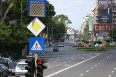 Universitatii Scquare in Bucharest Stock Images