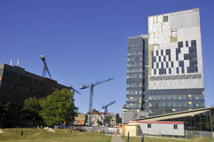 Universite de蒙特利尔的医院中心 图库摄影