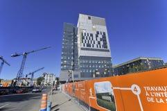 Universite de蒙特利尔的医院中心 免版税库存图片