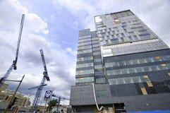 Universite de蒙特利尔的医院中心 免版税库存照片