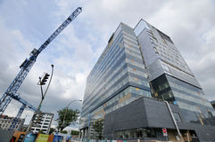Universite de Montreal's Hospital Center Royalty Free Stock Photos