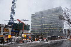 Universite de Montreal's Hospital Center Stock Photos