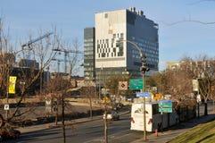 Universite de Montreal's Hospital Center. MONTREAL CANADA SEPT. 16: Under construction new Montreal's Centre hospitalier de l'Universite de Montreal (CHUM), or stock photos
