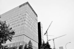 Universite de Montreal's Hospital Center. MONTREAL CANADA SEPT. 16: Under construction new Montreal's Centre hospitalier de l'Universite de Montreal (CHUM), or stock photography