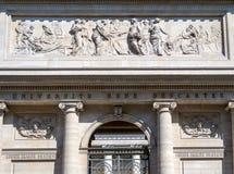 Universite Rene Descartes à Paris photos stock