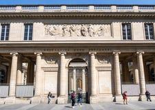 Universite Rene Descartes ? Paris photographie stock libre de droits