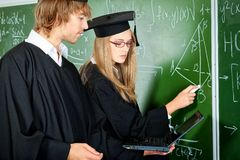 Universiteit Stock Foto