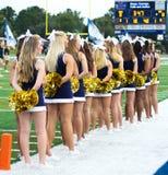 Universiteit Cheerleaders Royalty-vrije Stock Foto