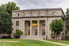 Universiteit die van Menselijke Wetenschappen bij de Staat van Iowa bouwen Royalty-vrije Stock Afbeelding