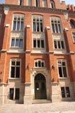 Universiteit in Krakau - Collegium Novum Stock Foto's