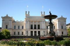 Universiteit in Lund Royalty-vrije Stock Afbeelding