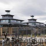 Universiteit op de Universiteit van Cambridge royalty-vrije stock afbeelding