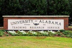 Universiteit van Alabama Royalty-vrije Stock Afbeeldingen