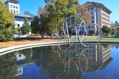 Universiteit van Californië, Berkeley stock afbeelding