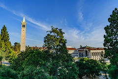 Universiteit van Californië Berkeley Sather Tower royalty-vrije stock foto