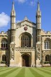 Universiteit van Cambridge, Corpus Christi (lichaam van C stock fotografie