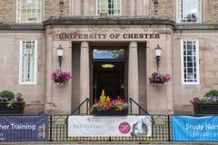 Universiteit van Chester royalty-vrije stock afbeeldingen
