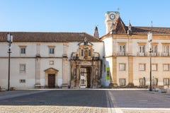 Universiteit van Coimbra, Portugal Stock Foto's