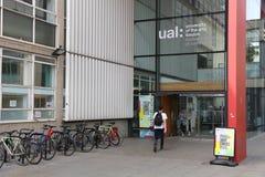 Universiteit van de Kunsten Londen Stock Fotografie
