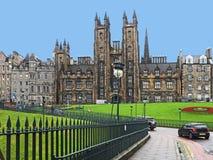 Universiteit van Edinburgh stock fotografie