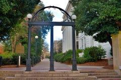 Universiteit van Georgia Athens Arch stock afbeeldingen