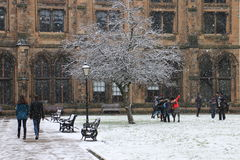 Universiteit van Glasgow royalty-vrije stock fotografie