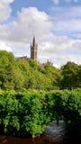 Universiteit van Glasgow Royalty-vrije Stock Afbeeldingen